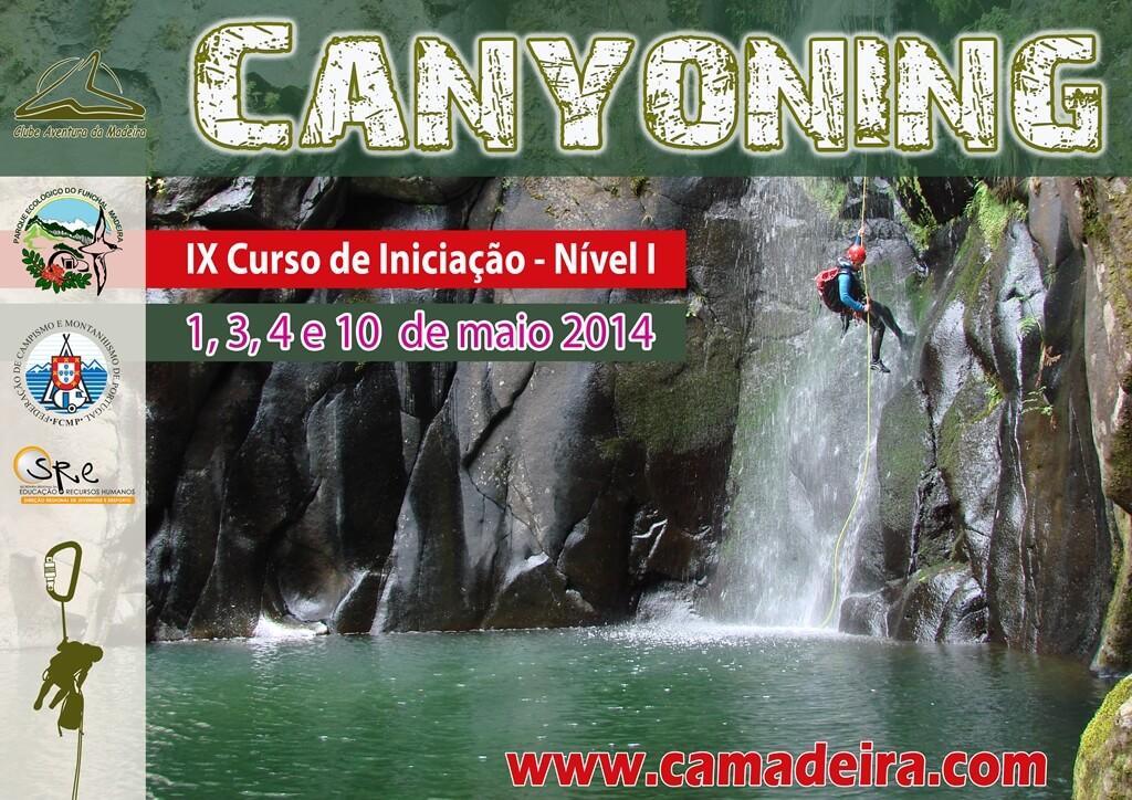 Cartaz IX Curso Canyoning 2014 copy